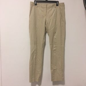 Theory Khaki Beige Trousers Pants 10